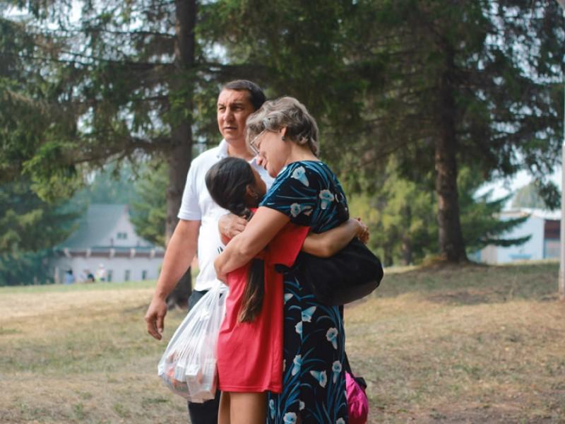 Фотоотчет «Третья смена» - «Родительский день»